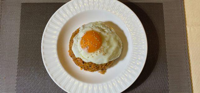 Olive家の簡単レシピ   韓国料理 いつ食べても飽きない!!! キムチチャーハン😋✨