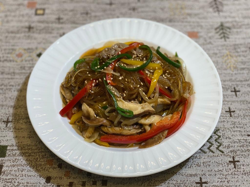 Olive家の簡単レシピ | 韓国料理 チャプチェ