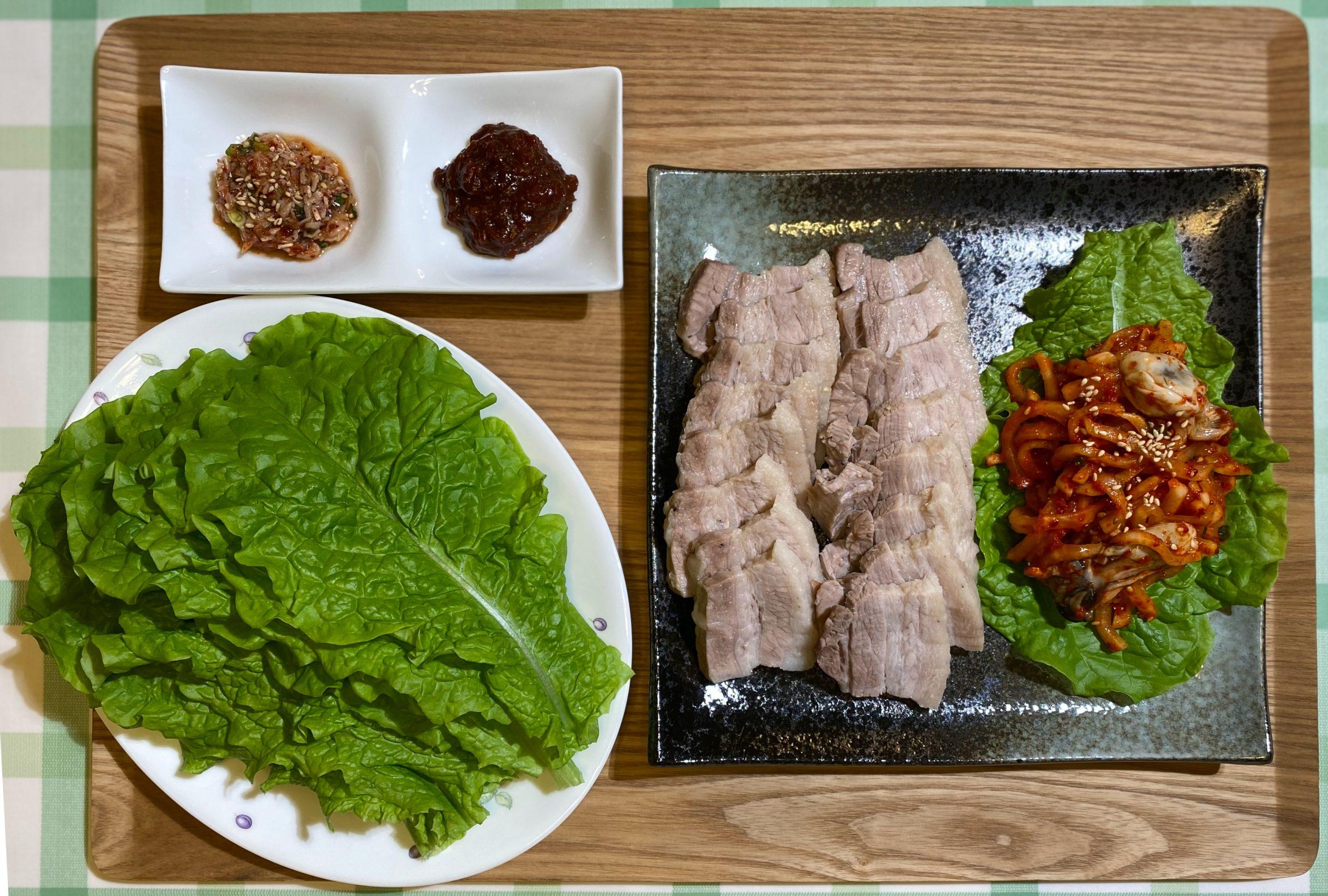Olive家の簡単レシピ | 韓国料理 ボッサム