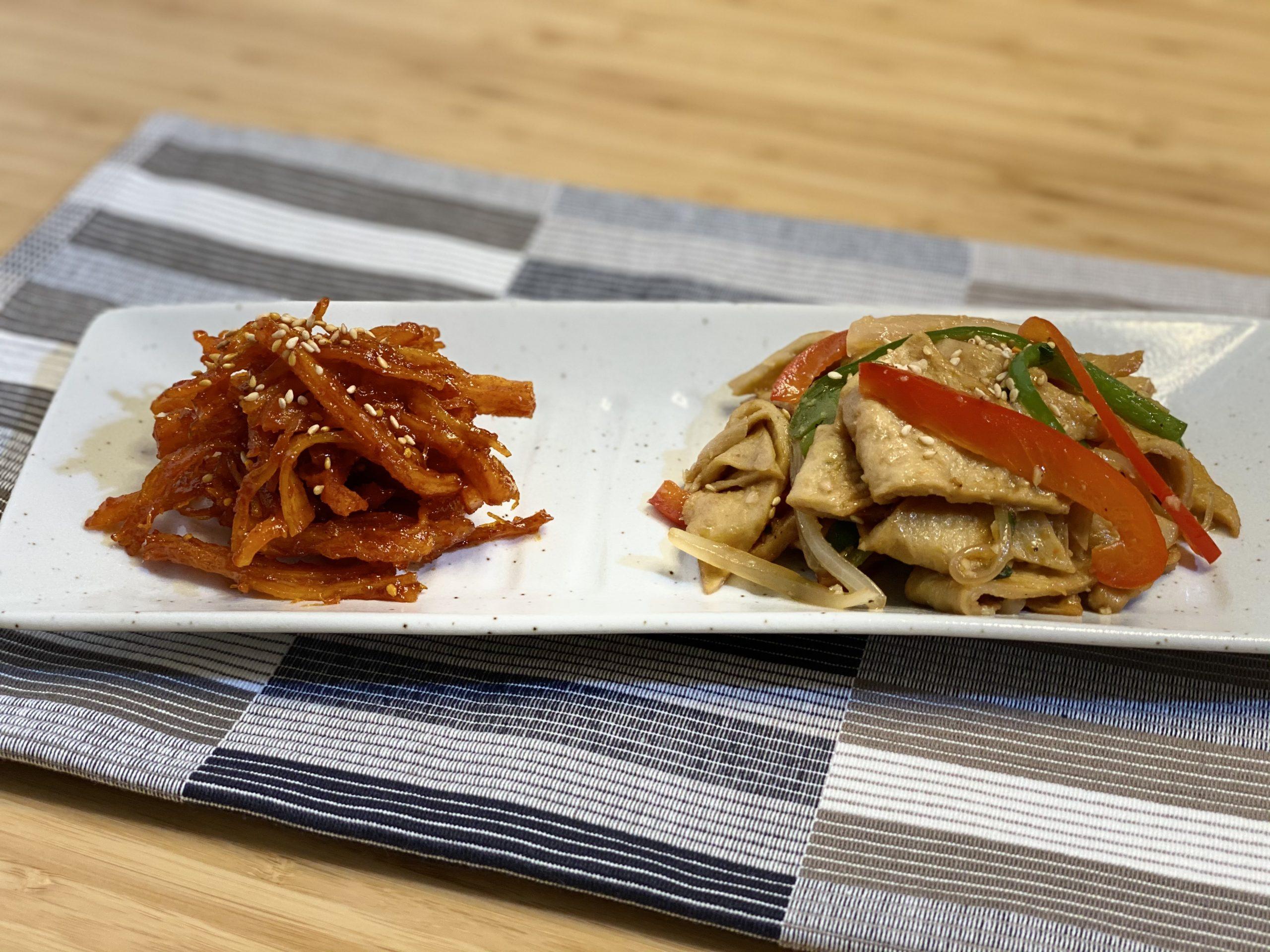 Olive家の簡単レシピ | 韓国料理 定番おかず 甘辛のソフトイカポックム&おでんポックム