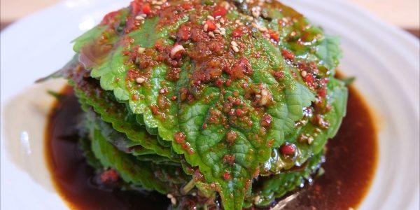 エゴマの葉キムチ 作り方 | 別名ごはん泥棒 / おいしいご飯のお供 | Olive家の簡単レシピ