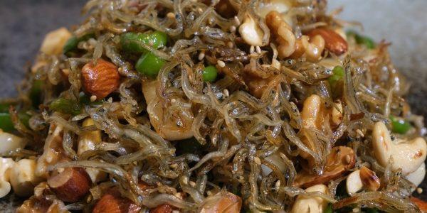 ちりめんじゃこ炒め 作り方 / ちりめんじゃこレシピ | 韓国定番おかず ミョルチポックム | Olive家の簡単レシピ
