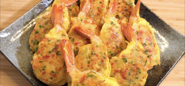 エビチヂミ 作り方 | タレがなくても本当においしいチヂミ / エビの下処理 / おもてなし料理 | Olive家の簡単レシピ