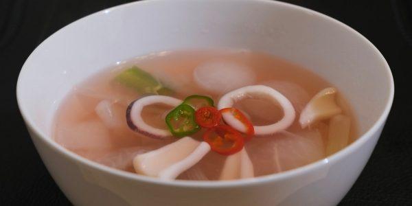 イカ大根スープ 作り方 | 最近大流行のイカゲームの形でおもしろく作ってみました
